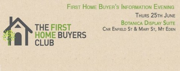 First Home Buyer's Information Evening