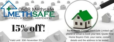 First Home Buyers Members Offers Methsafe