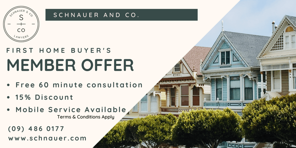 First Home Buyer Club Member Offer