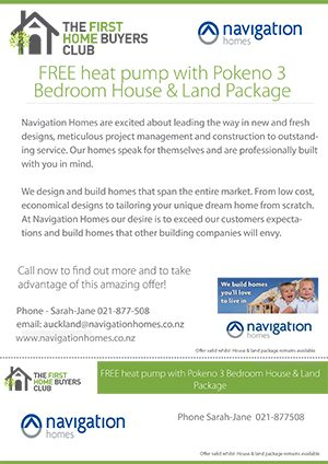 Navigation Homes | The First Home Buyers Club | New