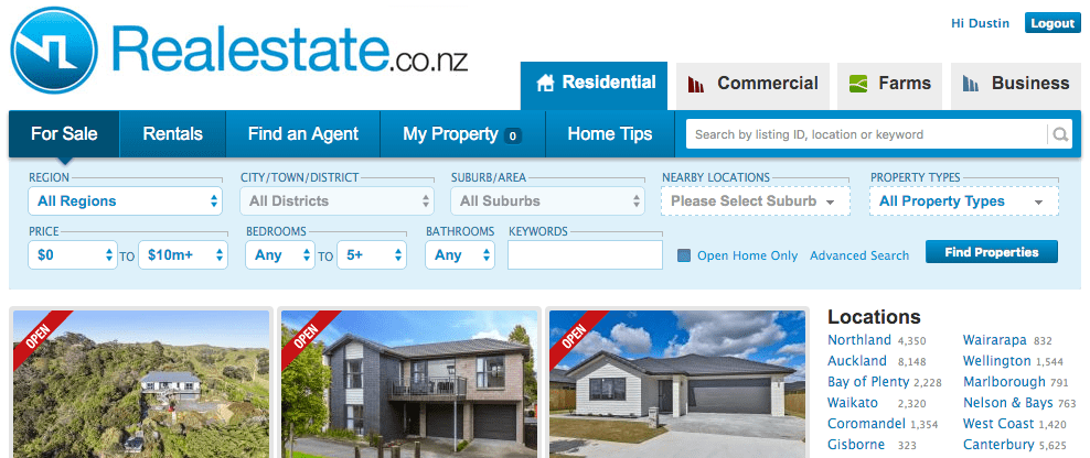 Websites For House Hunting