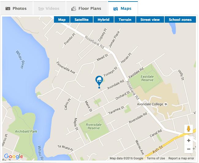 Property Listing Map