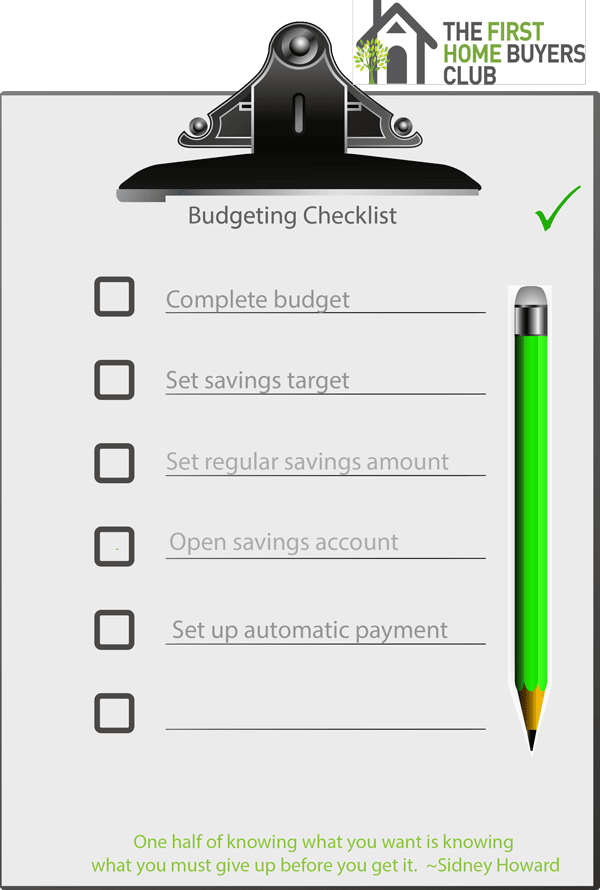 Click here to download your Budgeting Checklist
