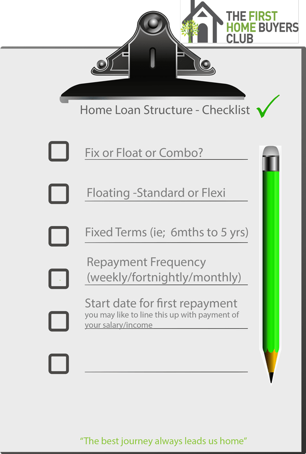 Click here to download your Home Loan Structure Checklist
