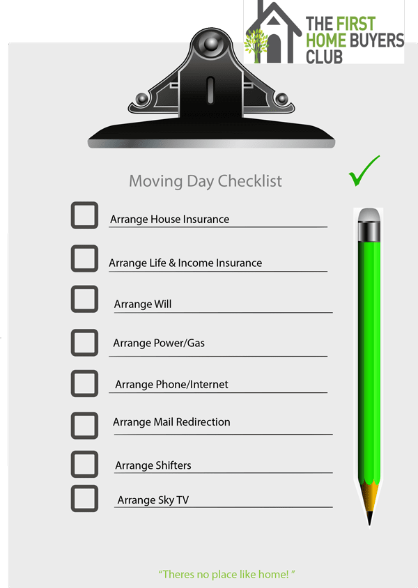 Click here to download your Moving Day Checklist